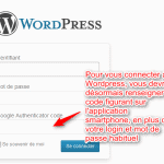 Google Authenticator pour WordPress limite le risque de piratage par force brute