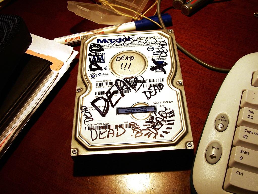 Faire une sauvegarde de son PC régulièrement pour parer à tout problème (système d'exploitation qui ne démarre plus, disque dur HS)