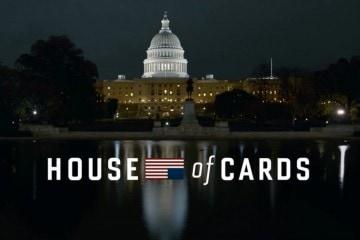 Le générique d'House of Cards présente des plans de Washington DC en timelapse