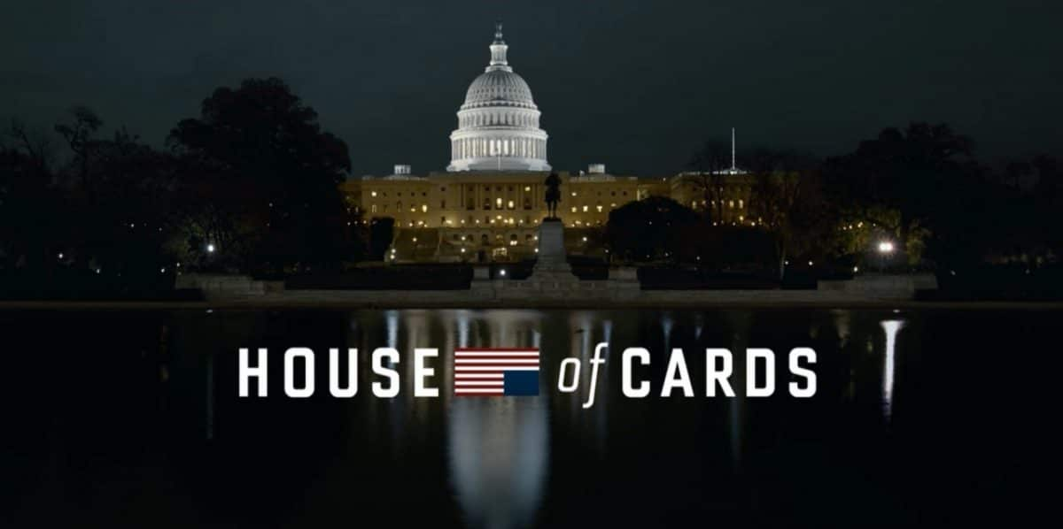 Le générique d'House of Cards présente des plans de Washington DC en timelapse