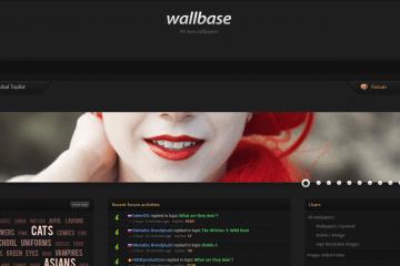 Le site wallbase permet de rechercher des wallpapers par couleur