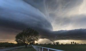 Photo d'orages supercellulaires en Oklahoma