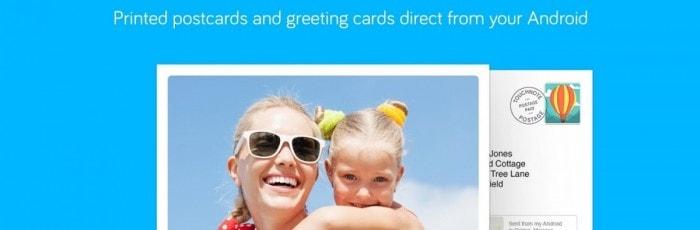 Carte postale réalisée avec Touchnote