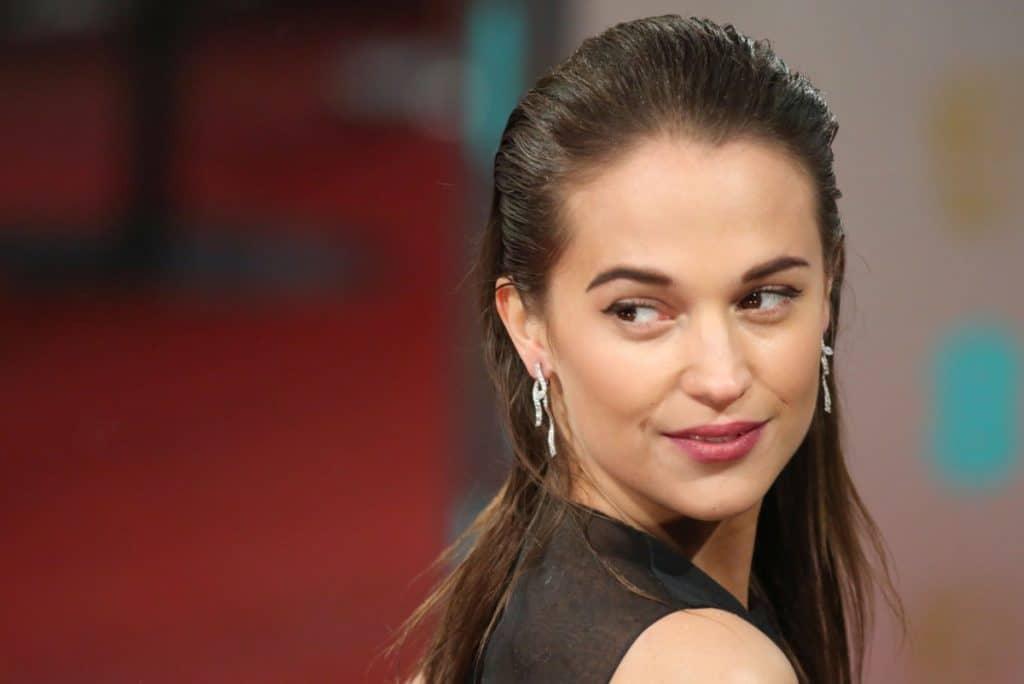 Photo de l'actrice Alicia Vikander, qui vient d'obtenir le prochain rôle de Lara Croft au cinéma