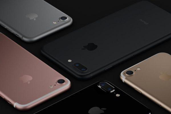 Coloris disponibles pour l'iPhone 7