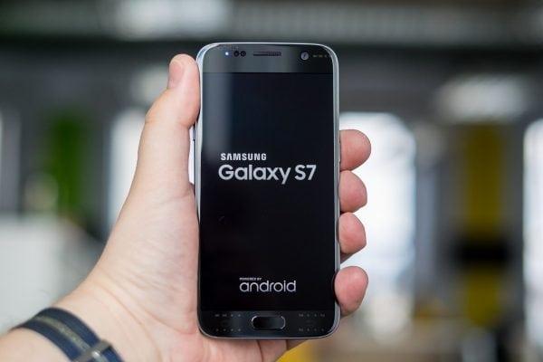 Photo du Samsung Galaxy S7