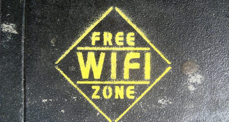 Logo d'une zone wifi gratuite