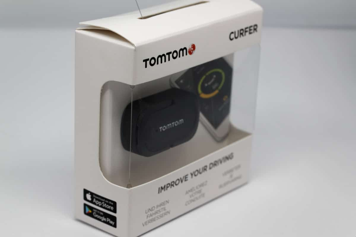 tomtom curfer test du bo tier connect qui analyse votre. Black Bedroom Furniture Sets. Home Design Ideas