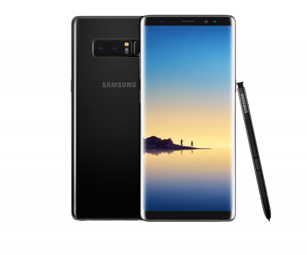 Le Samsung Galaxy Note 8 dispose de 2 objectifs, contrairement au S8