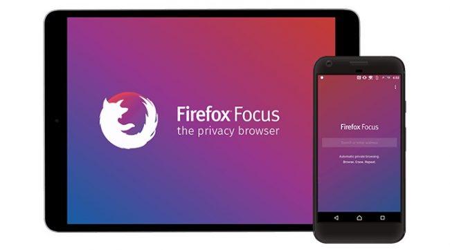 Firefox Focul, le navigateur mobile de Firefox qui respecte votrz vie privée