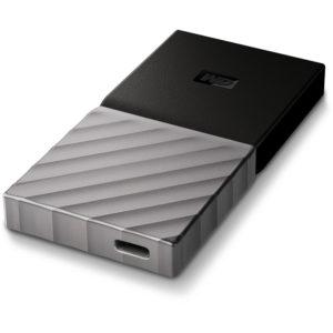 Le SSD externe portable MyPassport proposé par Western Digital