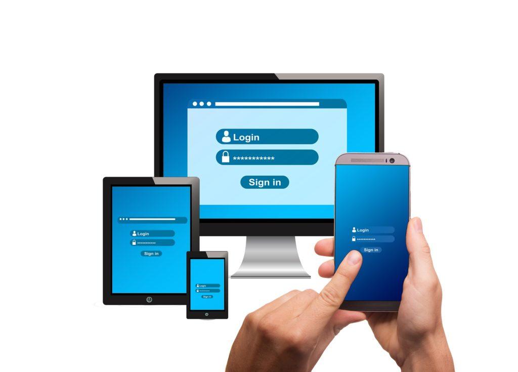 Le gestionnaire de mots de passe synchronise vos données entre différents périphériques