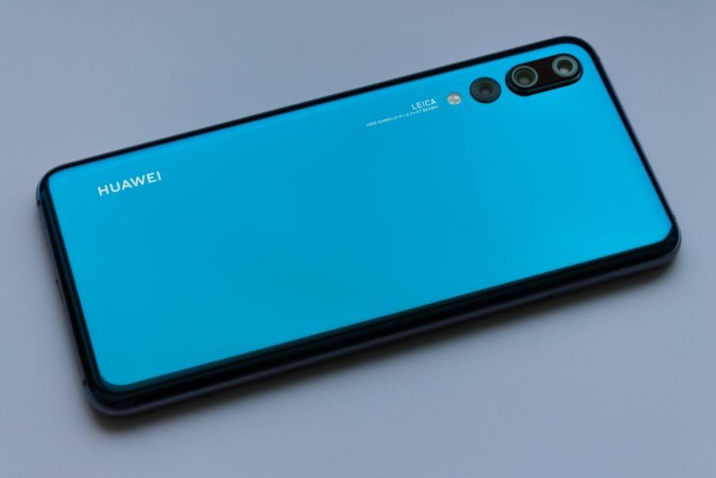Smartphone récent du constructeur Huawei