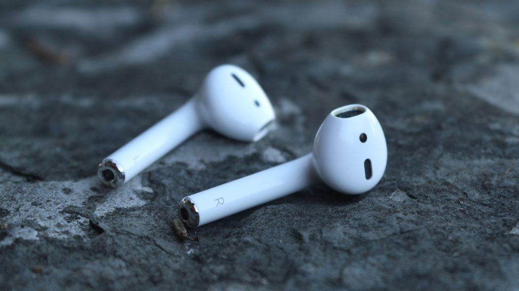 Les écouteurs Apple Airpods