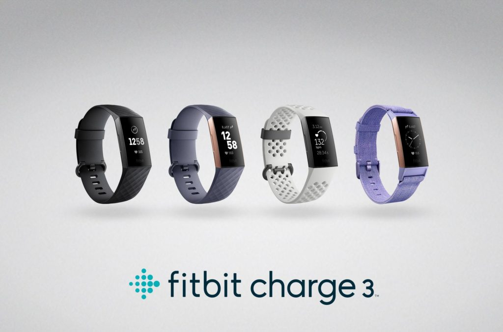 Tracker d'activité Fitbit Charge 3